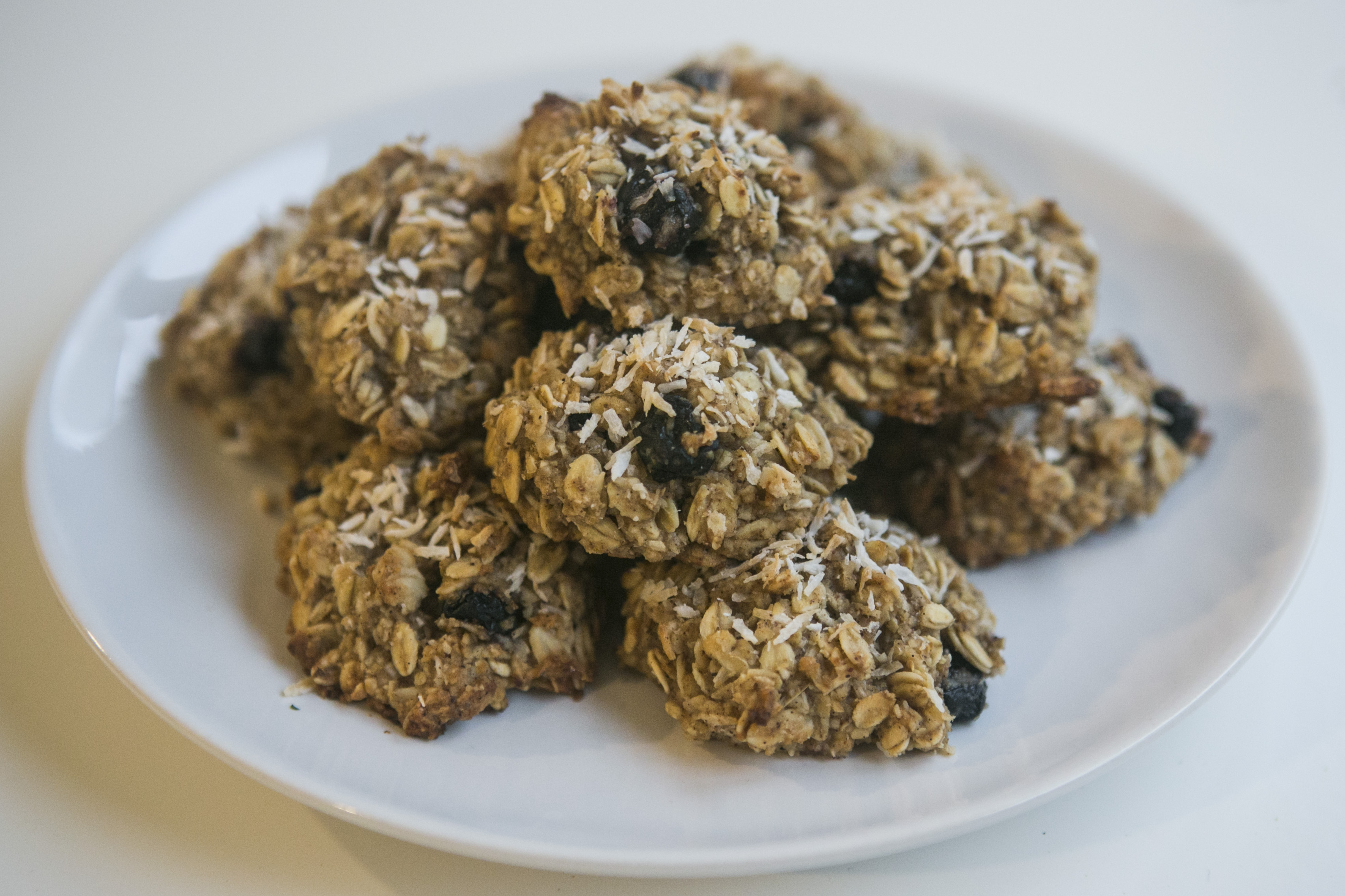 Blueberry Oat cookies-nathaliescuisine