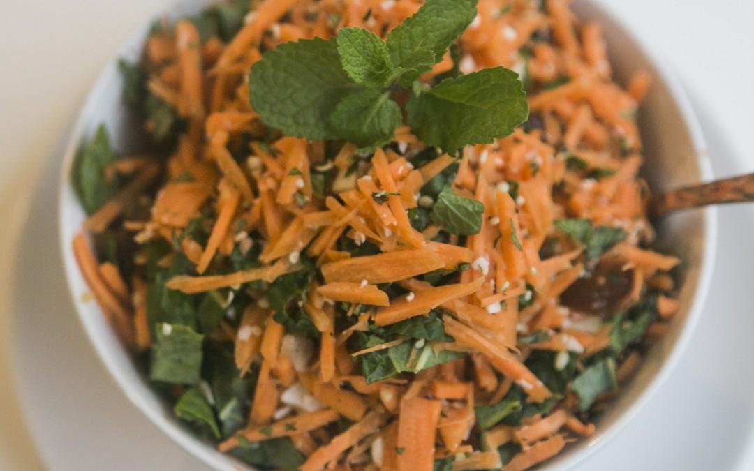 Oriental Carrot Salad