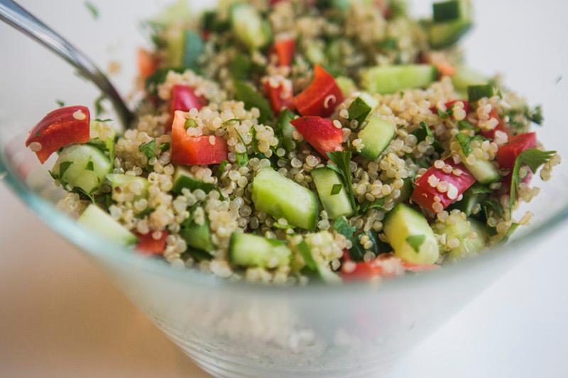 Quinoa Salad - Nathaliescuisine
