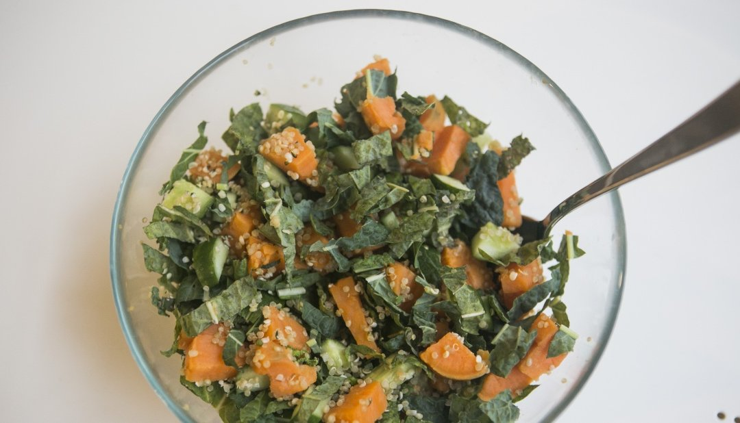 Kale Salad With Herb Dressing