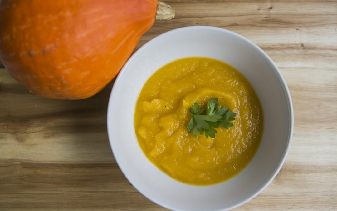 Kürbis-Karotte-Ingwer Suppe