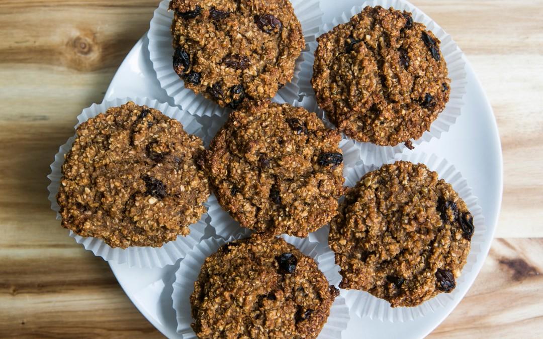 Quinoa Muffins – Vegan & Glutenfrei