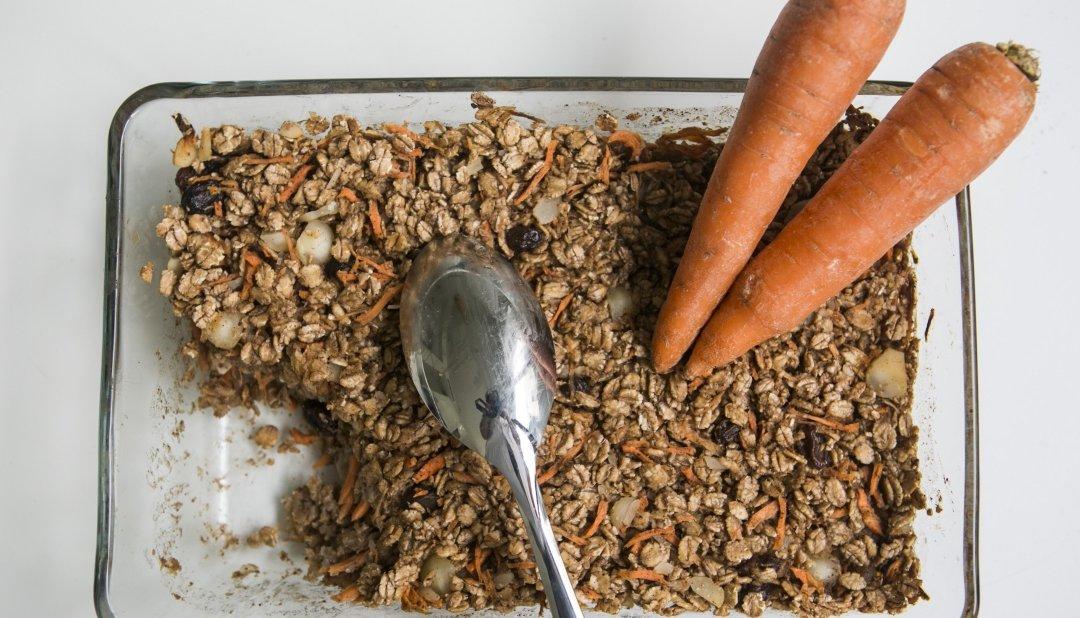 Baked Carrot Oatmeal