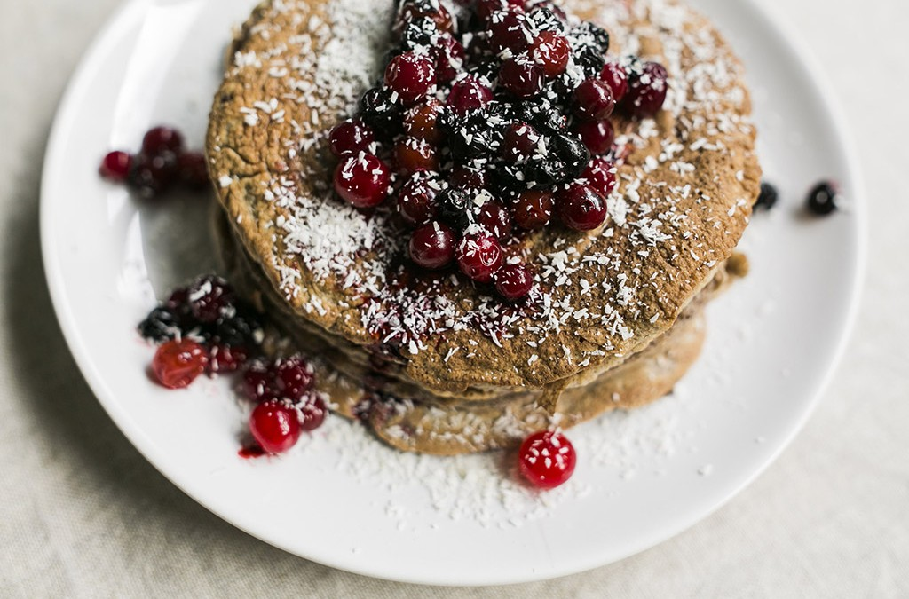 Cinnamon & Date Pancakes
