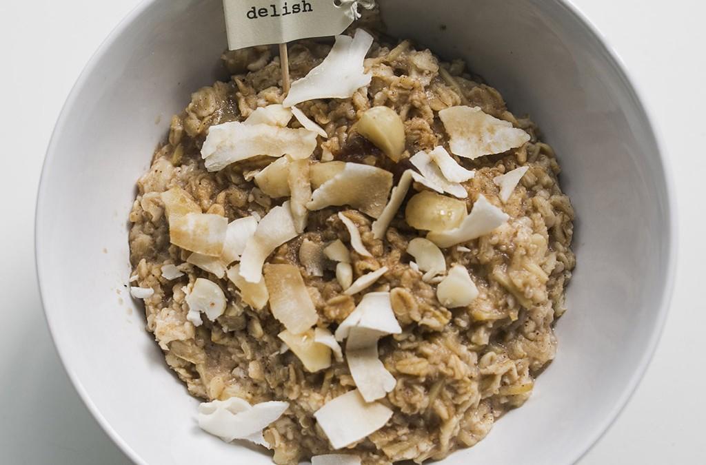 Simple & Delicious Porridge – vegan, gluten free