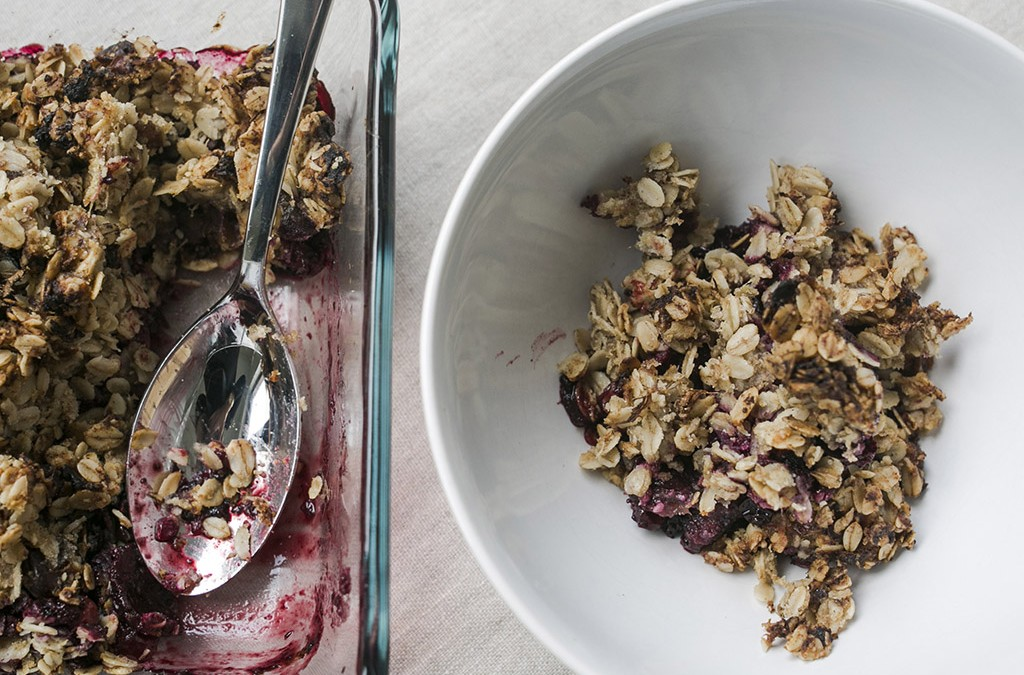 Berry & Oat Crumble