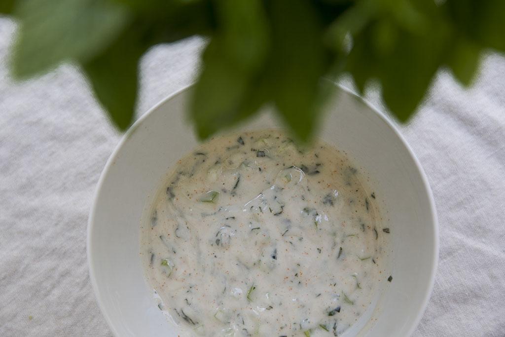 Cucumber Mint Dip
