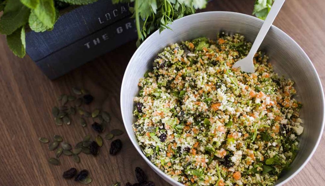 Detox Salad with lots of flavours and veggies