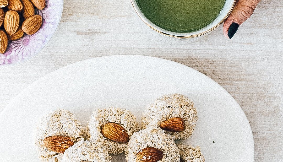 Raw Coconut Tahini Cookies