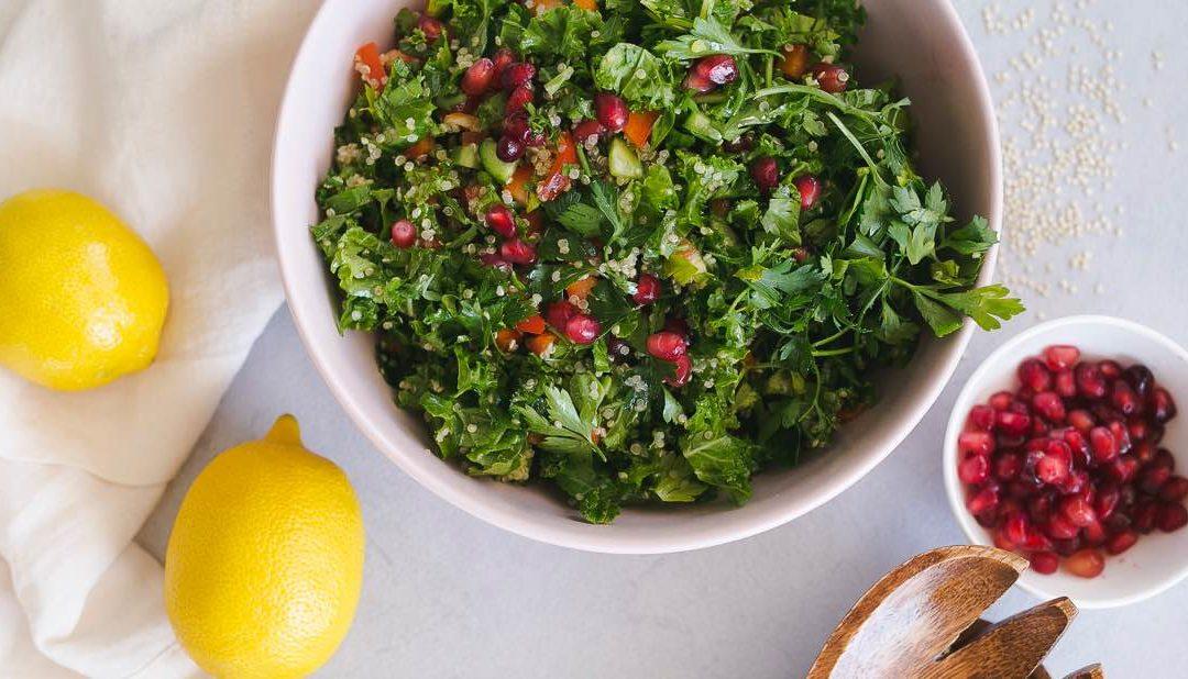 Kale Quinoa Tabbouleh