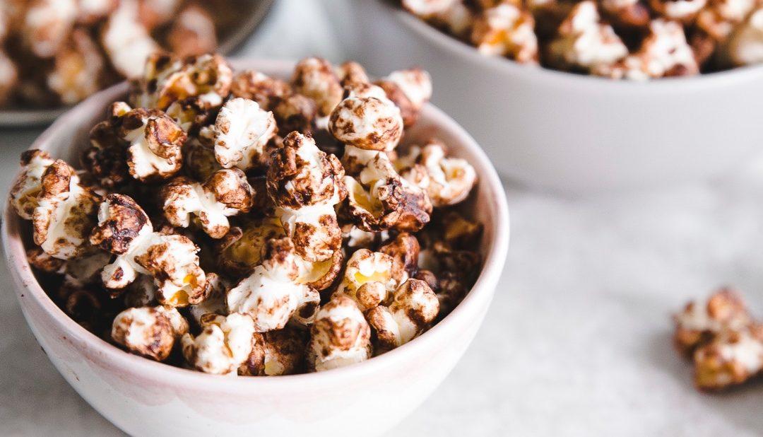Schokoladen Popcorn