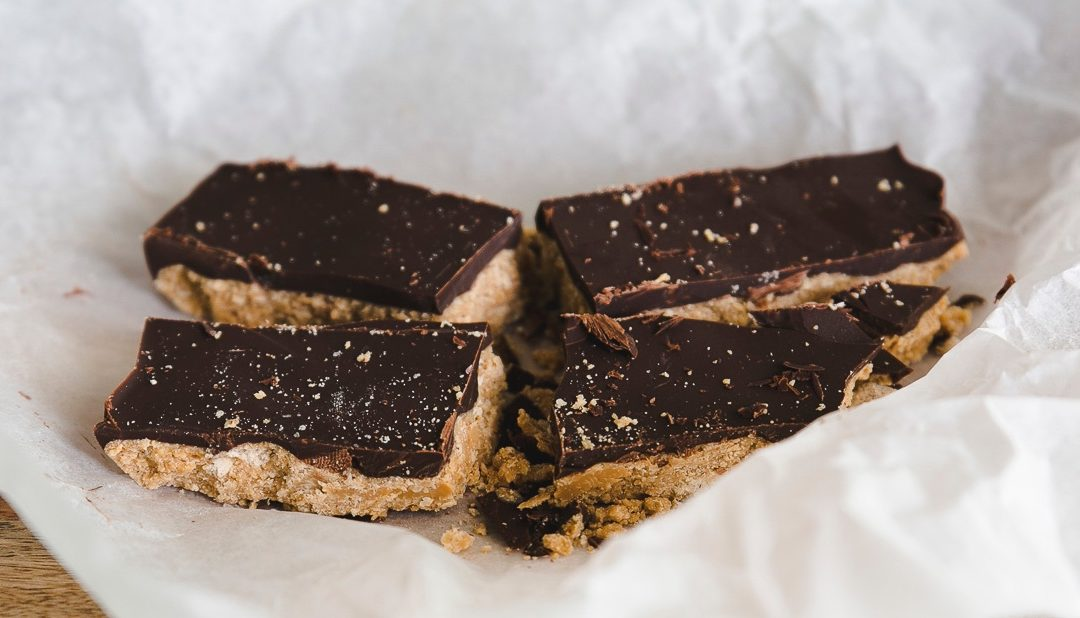 Raw Peanut Chocolate Bars