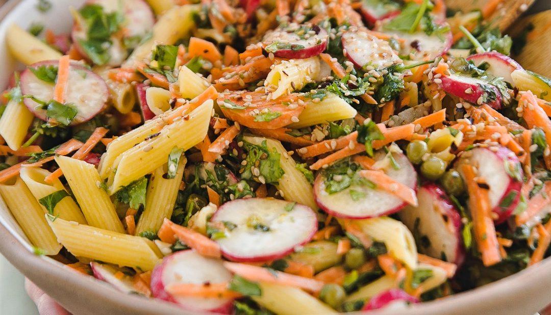 Cremiger Pasta Salat