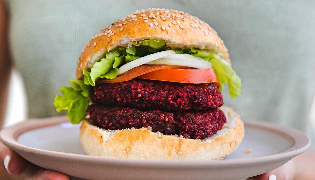 Rote Beete Burger